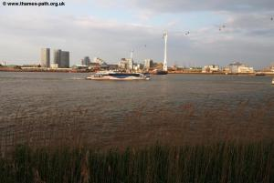 The Thames at North Greenwich