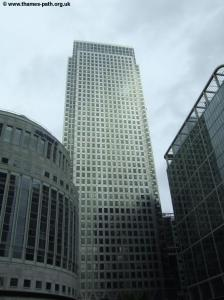 Modern Docklands - Canary Wharf Tower