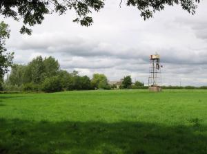 A wind pump in the field