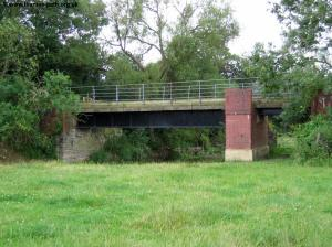 The former railway bridge
