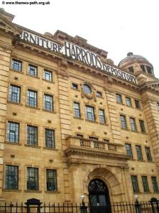 The former Harrods Furniture Depository
