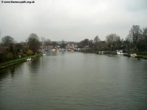 The Thames from Bourne End Bridge